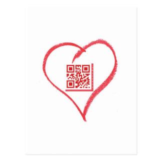 iloveyou_scancode_redheart tarjetas postales