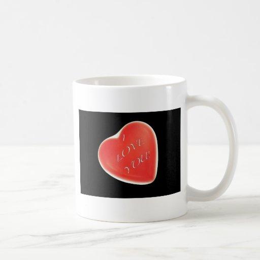 iloveyouheart classic white coffee mug