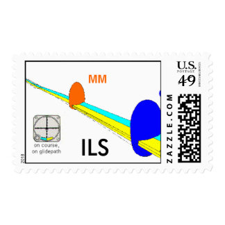 ILS depiction, ILS Postage Stamps