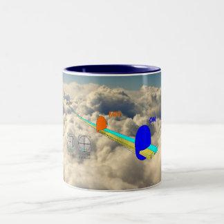 ILS depiction, IMC, ILS Two-Tone Coffee Mug