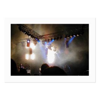 Iluminación de arsenal, mini foto tarjetas de visita grandes