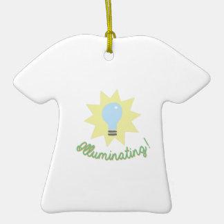 ¡Iluminación! Adorno De Cerámica En Forma De Camiseta