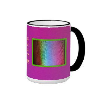 Iluminación del lavado de GLBTQ LED Taza De Dos Colores