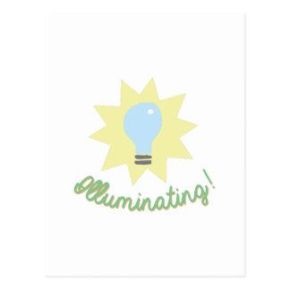 ¡Iluminación! Postal