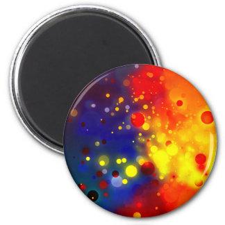 Iluminaciones borrosas del círculo imán redondo 5 cm