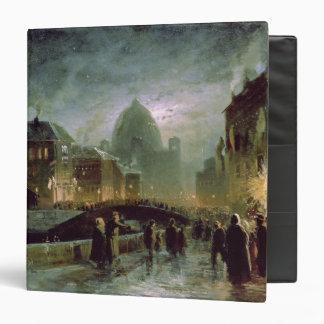 """Iluminaciones en St Petersburg, 1869 Carpeta 1 1/2"""""""