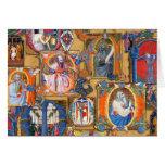 Iluminaciones medievales felicitaciones