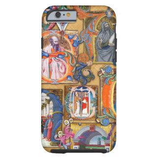 Iluminaciones medievales funda de iPhone 6 tough