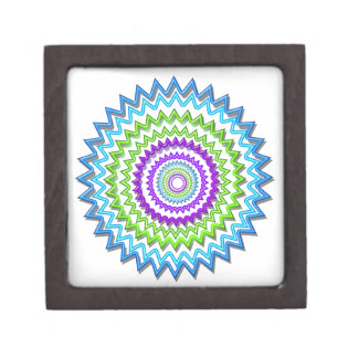 Ilumine BlueStar Chakra - púrpura en el corazón Cajas De Recuerdo De Calidad