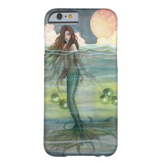 Ilumine las sirenas del arte de la fantasía de la funda de iPhone 6 barely there