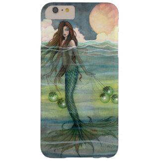 Ilumine las sirenas del arte de la fantasía de la funda de iPhone 6 plus barely there