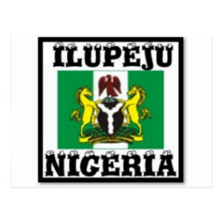 ILUPEJU, NIGERIA(T-Shirt And etc) Post Card