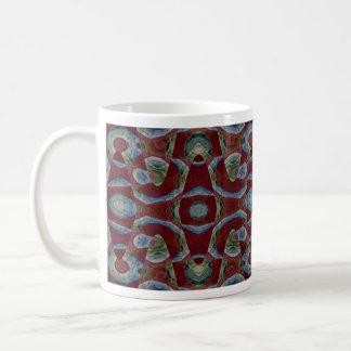 Ilusión abstracta tazas