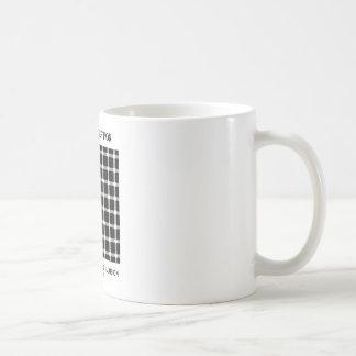 Ilusión de centelleo de la rejilla del engaño de taza clásica