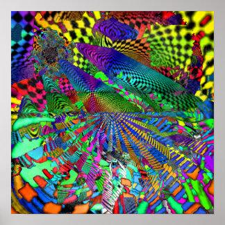 Ilusión de escala de tiempo 1 póster