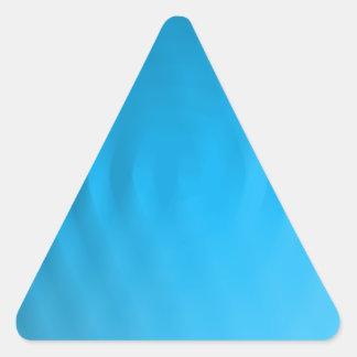 Ilusión de la ondulación pegatinas triangulo