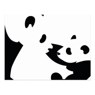 Ilusión de la panda postal