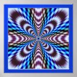 Ilusión de la vibración poster