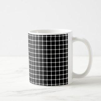 Ilusión de los puntos que destella más fina tazas de café