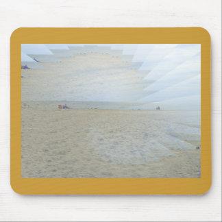 Ilusión de una mercancía de oro de la playa alfombrilla de raton