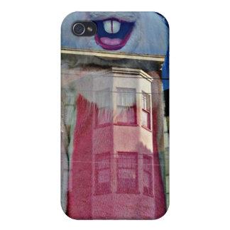 Ilusión del conejito de pascua a través de un caso iPhone 4 fundas