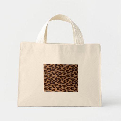 Ilusión del leopardo de Valxart Bolsa De Mano