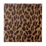 Ilusión del leopardo de Valxart Teja Ceramica