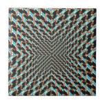 Ilusión enrrollada azulejos ceramicos