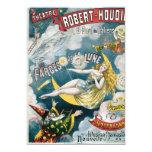 Ilusión Fantastique de George Melies del vintage Invitación 12,7 X 17,8 Cm