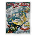 Ilusión Fantastique de George Melies del vintage Poster