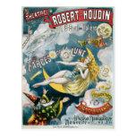 Ilusión Fantastique de George Melies del vintage Postal