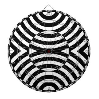 Ilusión geométrica blanco y negro 002
