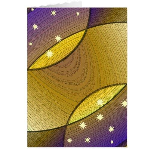 Ilusión mágica tarjeta de felicitación