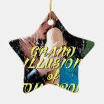 Ilusión magnífica de mañana ornamentos de reyes magos