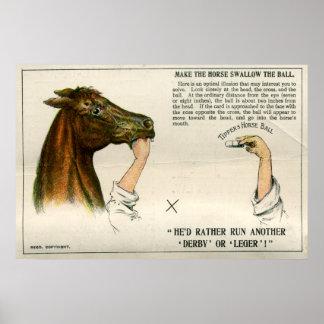 Ilusión óptica, 1896 poster