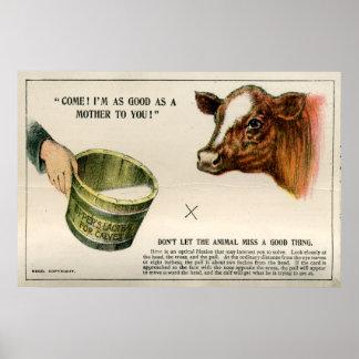 Ilusión óptica, 1896 póster