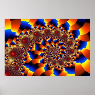 Ilusión óptica 1 póster