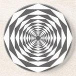 Ilusión óptica #1b posavasos manualidades