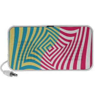 Ilusión óptica iPod altavoz