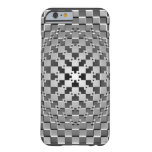 Ilusión óptica artística loca funda de iPhone 6 barely there