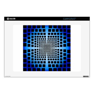 Ilusión óptica calcomanías para 38,1cm portátiles