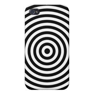 Ilusión óptica de la diana iPhone 4/4S fundas