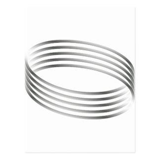 Ilusión óptica del anillo de Majic Postales