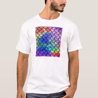 Ilusión óptica del arco iris playera