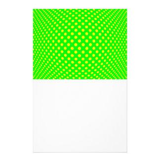 Ilusión óptica del punto papeleria de diseño