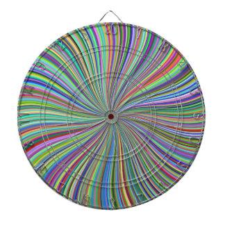 Ilusión óptica del remolino colorido desafiador de