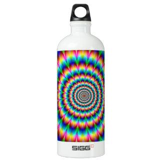 Ilusión óptica espiral del arco iris