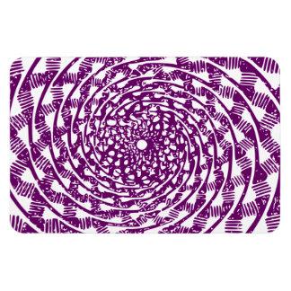 Ilusión óptica magenta imanes flexibles
