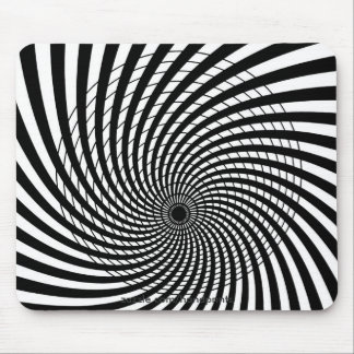 Ilusión ÓPTICA Mousepad Tapete De Ratones