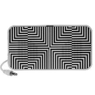 Ilusión óptica para hypnotherapy laptop altavoces
